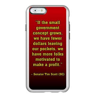 TIMSCOTT SMALLER GOVT INCIPIO FEATHER® SHINE iPhone 6 CASE