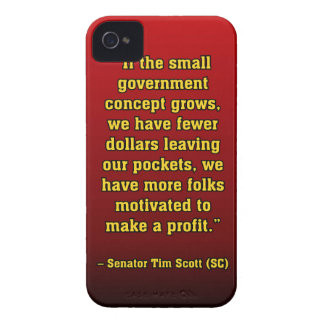 TIMSCOTT SMALLER GOVT iPhone 4 Case-Mate CASE