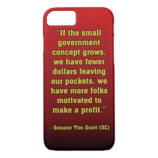 TIMSCOTT SMALLER GOVT iPhone 7 CASE