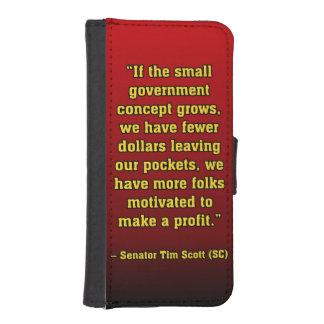 TIMSCOTT SMALLER GOVT iPhone SE/5/5s WALLET