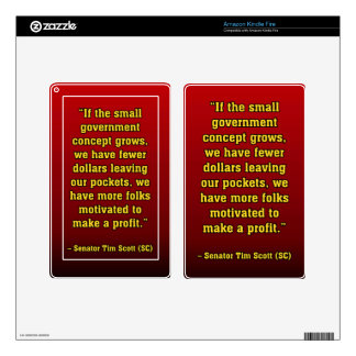TIMSCOTT SMALLER GOVT SKINS FOR KINDLE FIRE