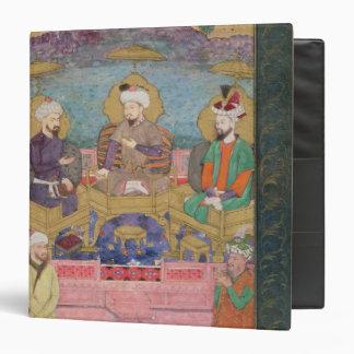 Timur (1336-1405), Babur (1483-1530, r.1526-30) an 3 Ring Binder