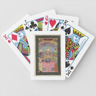Timur (1336-1405), Babur (1483-1530, r.1526-30) an Bicycle Playing Cards
