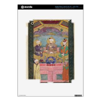 Timur (1336-1405), Babur (1483-1530, r.1526-30) an iPad 3 Skin