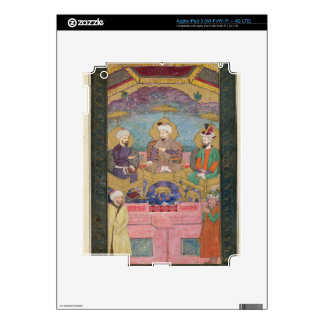Timur (1336-1405), Babur (1483-1530, r.1526-30) an iPad 3 Skins