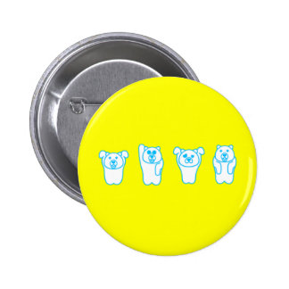Tin badge by unga button