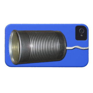 Tin Can and String iPhone 4 Cover