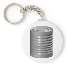 Tin Can Keychain