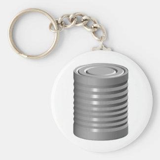 Tin Can Keychain