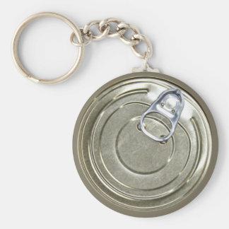 Tin Can Lid Keychain