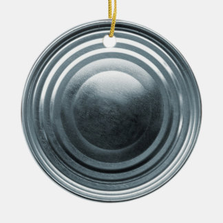 Tin Can Lid Ornament