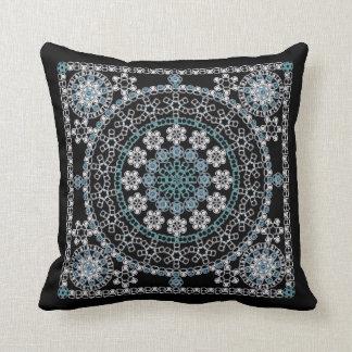 Tin can pattern pillow