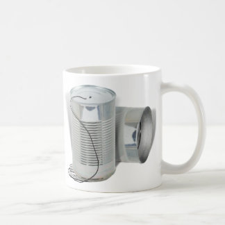 Tin Can Phone Can you hear me NOW Mug