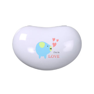 Tin - I'm in love designed by chanida Jelly Belly Tins