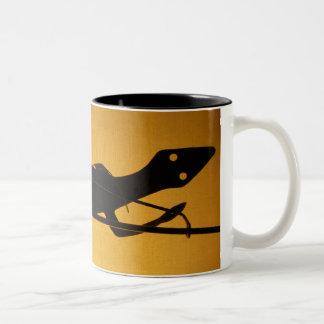 Tin Lizard Two-Tone Coffee Mug