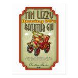 Tin Lizzy Bathtub Gin Postcard
