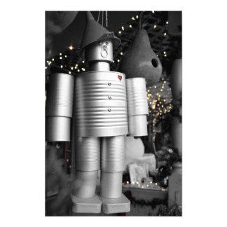 Tin Man at Christmas Photo Print