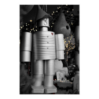 Tin Man at Christmas Poster