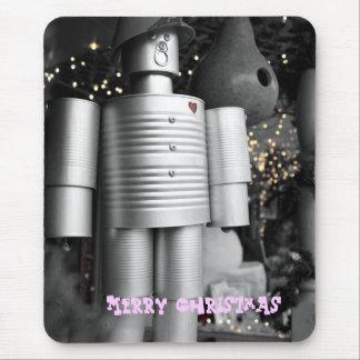 Tin Man Christmas Mousepad