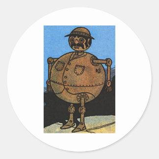 Tin Man Classic Round Sticker