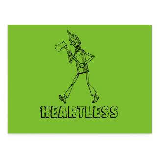 Tin Man Heartless Postcard