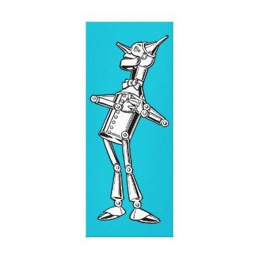 spaceycasey Tin Man of Oz Canvas Print