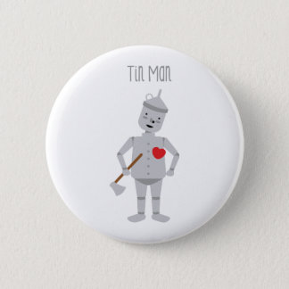 Tin Man Pinback Button