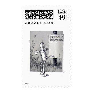 Tin Man Postage Stamp