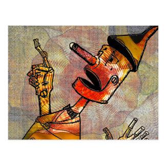 Tin Man Postcard