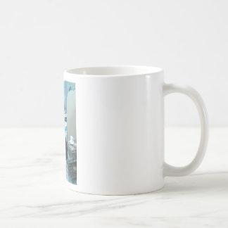 """Tin Man"" Products Classic White Coffee Mug"