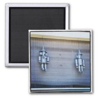 Tin Man & Tin Woman Magnet