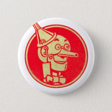 DulceDahlia Tin Man, Wizard of Oz Button