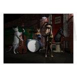 Tin Pan Alley Cats Card