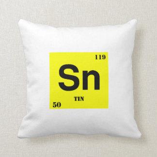 Tin Throw Pillows