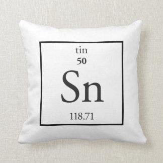 Tin Throw Pillow