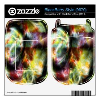 Tin BlackBerry Style Decals