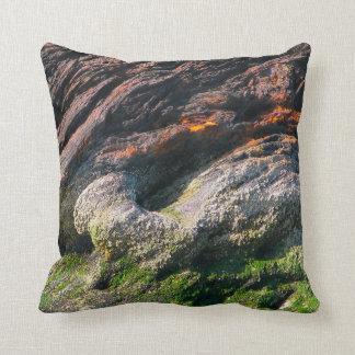 Tin Slag Mountain Throw Pillow