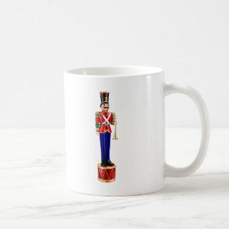 tin soldier. coffee mug