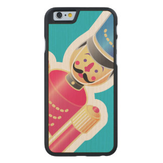 Tin Soldier Icon Carved® Maple iPhone 6 Case