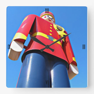 Tin Soldier Square Wall Clock