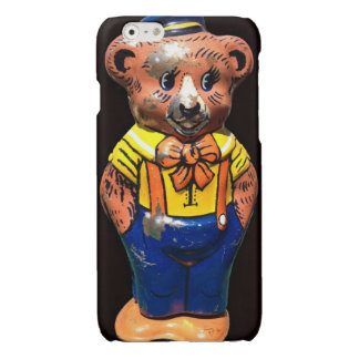 Tin Toy Bear Glossy iPhone 6 Case