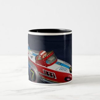 Tin Toy Space/Rocket Ship Mug