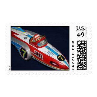 Tin Toy Space/Rocket Ship Postage