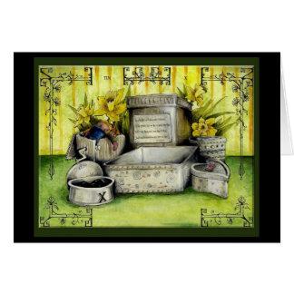 Tin Wedding Anniversary : Jupigio-Artwork.com Greeting Card