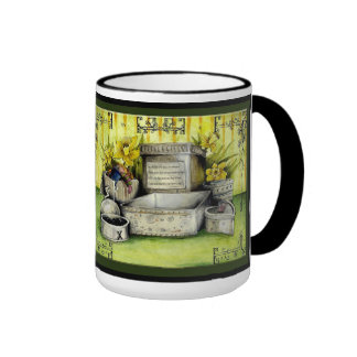 Tin Wedding Anniversary : Jupigio-Artwork.com Ringer Coffee Mug