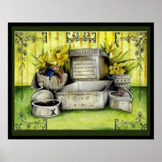 Tin Wedding Anniversary: Jupigio-Artwork.com Print