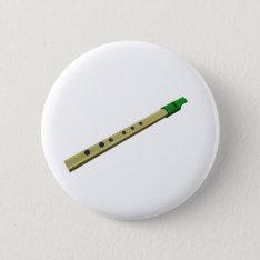 Tin Whistle Button Badge at Zazzle