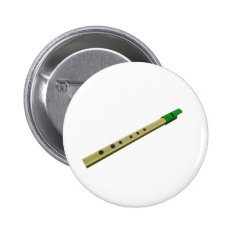 Tin Whistle Button Badge at Zazzle