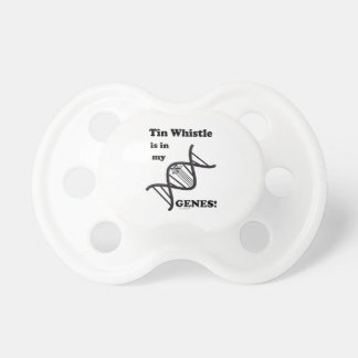 Tin Whistle in my Genes Baby Pacifier