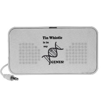 Tin Whistle in my Genes Portable Speakers